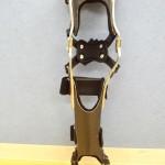 熱可塑ラミネートシート加工成形例(長下肢装具)
